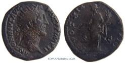 Ancient Coins - ANTONINUS PIUS. (138-161 AD) Dupondius, 12.58g.  Rome. Pax