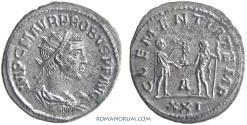 Ancient Coins - PROBUS. (AD 276-282) Antoninianus, 4.32g.  Antioch.