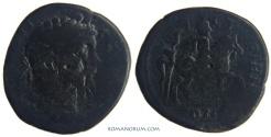 Ancient Coins - SEPTIMIUS SEVERUS. (AD 193-211) AE30, 14.57g.  Istros, Moesia Inferior. Quite rare.