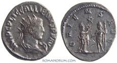 Ancient Coins - GALLIENUS. (AD 253-268) Antoninianus, 3.75g.  Samosata. ORIENS AVG Tyche. Scarce.