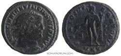 Ancient Coins - LICINIUS. (AD 308-324) AE3, 6.24g.  Cyzicus. GENIO IMPERATORIS Scarce. Featured in wildwinds.com