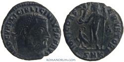 Ancient Coins - LICINIUS. (AD 308-324) Follis, 2.29g.  Cyzicus. IOVI CONSERVATORI