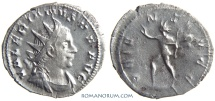 Ancient Coins - VALERIAN. (AD 253-260) Antoninianus, 2.48g.  Cologne. ORIENS AVGG