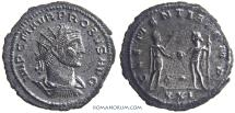 Ancient Coins - PROBUS. (AD 276-282) Antoninianus, 3.79g.  Antioch. Scarcer officina