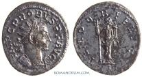 Ancient Coins - PROBUS. (AD 276-282) Antoninianus, 4.58g.  Lugdunum. TEMPOR FELICI Uncommon reverse legend.