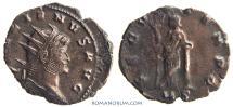 Ancient Coins - GALLIENUS. (AD 253-268 ) Antoninianus, 2.53g.  Mediolanum. SECVR TENPO. Actually rare.