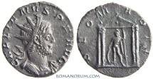 Ancient Coins - GALLIENUS. (AD 253-268) Antoninianus, 3.00g.  Lugdunum. DEO MARTI