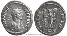 Ancient Coins - PROBUS. (AD 276-282) Antoninianus, 3.97g.  Rome. Fides Militum