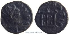 Ancient Coins - CLAUDIUS II, Gothicus. (AD 268-270) Antoninianus, 1.93g.  Mediolanum. CONSECRATIO Altar
