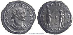 Ancient Coins - PROBUS. (AD 276-282) Antoninianus, 3.79g.  Antioch. Scarcer officina