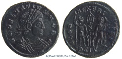Ancient Coins - DELMATIUS. (AD 335-337) AE3, 1.66g.  Siscia. Black patina. Great portrait.