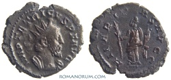 Ancient Coins - TETRICUS. (AD 271-74) Antoninianus, 2.99g.  Trier or Mainz HILARITAS AVGG Surprisingly well struck.