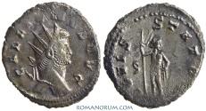 Ancient Coins - GALLIENUS. (AD 253-268) Antoninianus, 4.46g.  Rome. IOVIS STATORI Heavy antoninianus.