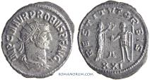 Ancient Coins - PROBUS. (AD 276-282) Antoninianus, 4.06g.  Antioch.
