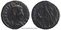 Ancient Coins - CONSTANTIUS GALLUS. (AD 351-54) AE 3, 2.09g.  Siscia. FEL TEMP