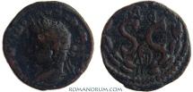Ancient Coins - ELAGABALUS. (AD 218-222 ) AE20, 6.48g.  Syria, Seleucis and Pieria. Antiochia ad Orontem.  Uncommon bust left.