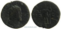 Ancient Coins - POSTUMUS. (260-268 A.D.) Double sestertius, 14.07g.  Cologne. Scarce.