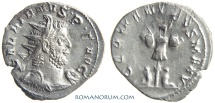 Ancient Coins - GALLIENUS. (AD 253-268) Antoninianus, 2.87g.  Cologne. GERMANICVS MAX