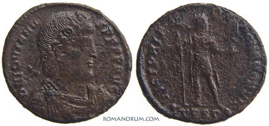 Ancient Coins - JOVIAN. (AD 363-364) AE1, 8.18g.  Thessalonica. Scarce