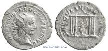 Ancient Coins - TREBONIANUS GALLUS. (251-253 AD) Antoninianus, 3.01g.  Antioch.