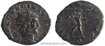Ancient Coins - CLAUDIUS II, Gothicus. (AD 268-270) Antoninianus, 2.50g.  Milan. VIRTVS AVG Nice portrait style.