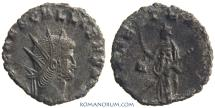 Ancient Coins - GALLIENUS. (AD 253-268 ) Antoninianus, 2.38g.  Rome. PAX AETERNA. Rare. Featured in wildwinds.com