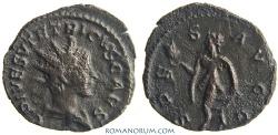 Ancient Coins - TETRICUS II. (AD 273-74) Antoninianus, 2.24g.  Trier  SPES AVGG