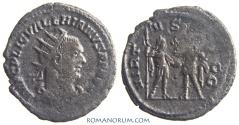 Ancient Coins - VALERIAN. (AD 253-260) Antoninianus, 3.15g.  Samosata. VIRTVS AVGG