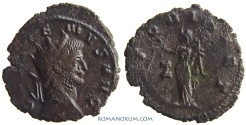 Ancient Coins - GALLIENUS. (AD 253-268 ) Antoninianus, 2.53g.  Rome. VICTORIA AET