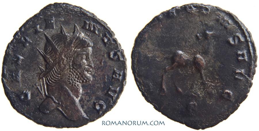 Ancient Coins - GALLIENUS. (AD 253-268) Antoninianus, 2.55g.  Rome. Doe.