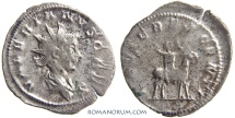 "Ancient Coins - VALERIAN II. (AD 256-58) Antoninianus, 2.47g.  Cologne. ""Growing Jupiter"""