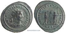 Ancient Coins - MAXIMIANUS. (AD 286-305) Antoninianus, 4.05g.  Tripolis.  Rare.