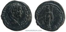 Ancient Coins - GETA. (AD 209-211) AE 21, 6.05g.  Moesia Inferior, Tomis. Tyche.