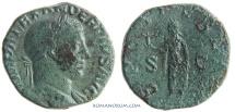 Ancient Coins - SEVERUS ALEXANDER. (AD 222-235) Sestertius, 19.24g.  Rome. SPES PVBLICA