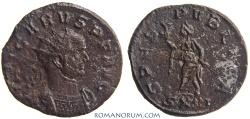 Ancient Coins - CARUS. (AD 282-283) Antoninianus, 3.28g.  Ticinum. SPES PVBLICA