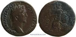Ancient Coins - ANTONINUS PIUS. (AD 138-161 ) Sestertius, 24.19g.  Rome.