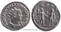 Ancient Coins - VALERIAN. (AD 253-260) Antoninianus, 3.63g.  Samosata. Scarce.