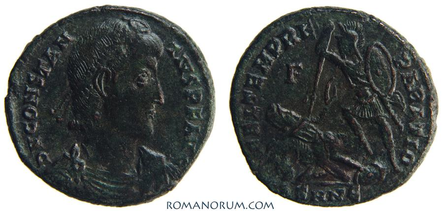 Ancient Coins - CONSTANTIUS II. (AD 337-361) AE2, 5.12g.  Nicomedia.