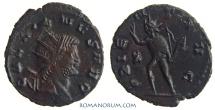Ancient Coins - GALLIENUS. (AD 253-268) Antoninianus, 3.14g.  Rome. ORIENS AVG Nice patina