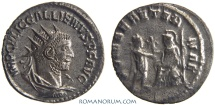 Ancient Coins - GALLIENUS. (AD 253-268) Antoninianus, 3.54g.  Samosata. Rare. Featured in wildwinds.com