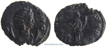 Ancient Coins - SALONINA. (Wife of Gallienus) Antoninianus, 1.57g.  Rome. FECVNDITAS AVG