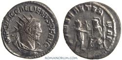 Ancient Coins - GALLIENUS. (AD 253-268) Antoninianus, 3.54g.  Samosata. Rare. Featured in wildwinds.com