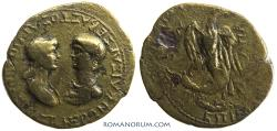 Ancient Coins - NERO and AGRIPPINA II. (Marios Kordos, magistrate. ) AE26, 6.95g.  PHRYGIA. Apamea.