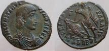 Ancient Coins - Constantius Gallus. Caesar, 351-354 AD. Æ-2. Sharp detailed reverse and nice eye-appeal.