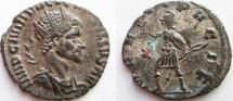 Ancient Coins - Quintillus. 270 AD. Antoninianus. VF, with lots of silvering remaining.