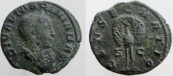 Ancient Coins - MARINIANA. Died before 253 AD. Æ As or Dupondius.