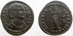 Ancient Coins - Galeria Valeria. Augusta, 293(?)-311 AD. Æ Follis. Mint of Antioch. Excellent eye appeal.