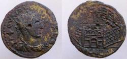 Quietus. 268-270 AD. BITHYNIA, Nicaea. VERY RARE variety !!