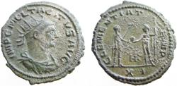 Ancient Coins - Tacitus. 275-276 AD. RARE - Double Antoninianus.  VERY RARE - Only 2 listed on RIC On-line !