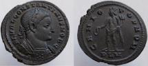 Ancient Coins - CONSTANTINE I, as Caesar. 307 AD. Æ Follis. Choice eye appeal.